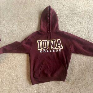 Iona College hoodie